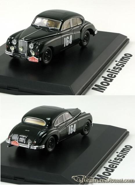 Jaguar MK VII Monte Carlo 1956 Oxford Models