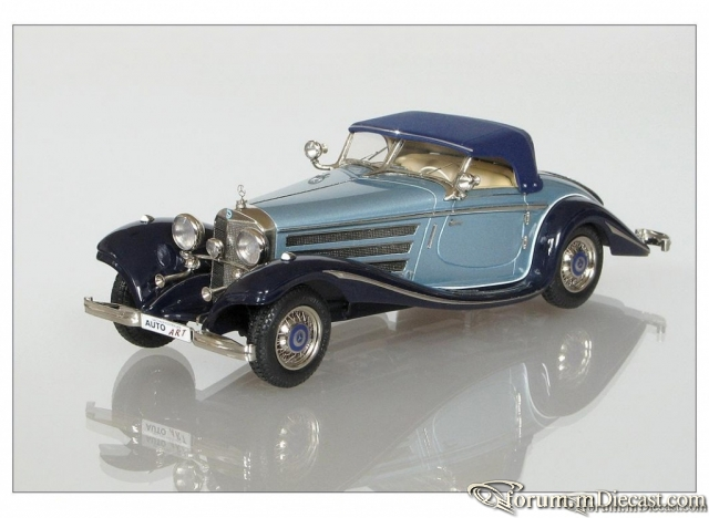 Mercedes-Benz W 29 500K Special Roadster Closed 1936 Пивтора