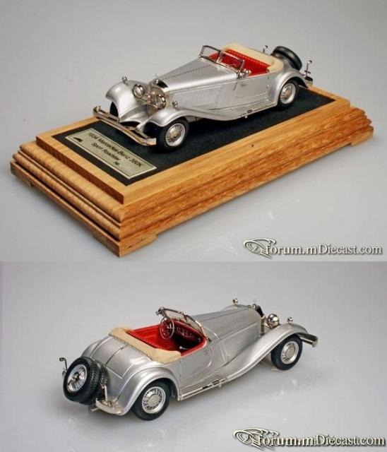 Mercedes-Benz W 22 380K Sport-Roadster 1934 Пивторак