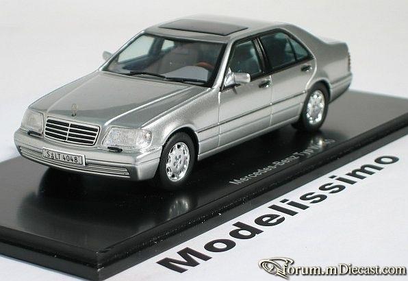 Mercedes-Benz W140 S-klasse 1994 S600 Spark