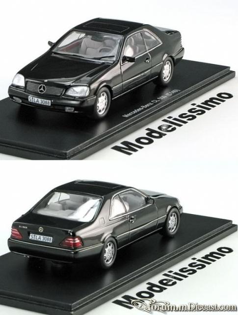 Mercedes-Benz W140 S-klasse Coupe 1995 CL 500 Spark