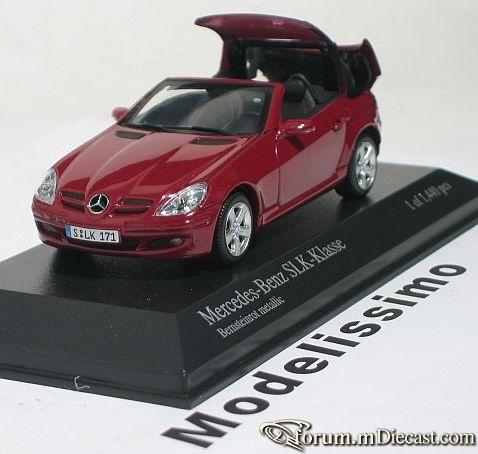 Mercedes-Benz W171 SLK-klasse 2004 Minichamps