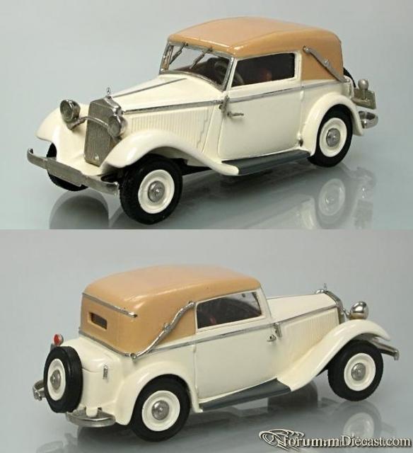 Mercedes-Benz W 21 Typ 200 Cabriolet C 1934 Old Garage