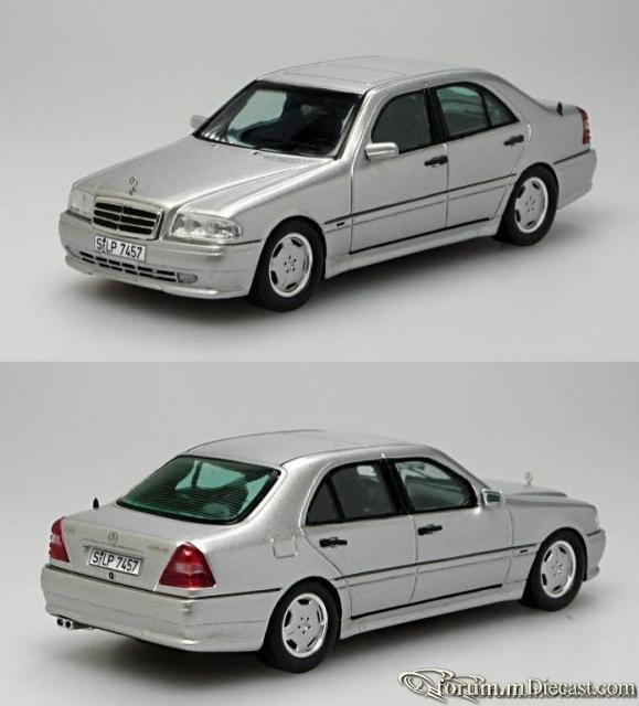 Mercedes-Benz W202 C-klasse Sedan C36 AMG Spark