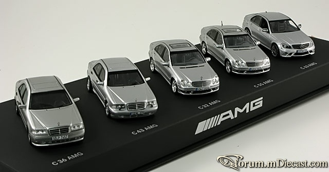 Mercedes-Benz SET AMG Spark-Schuco 300 pcs.