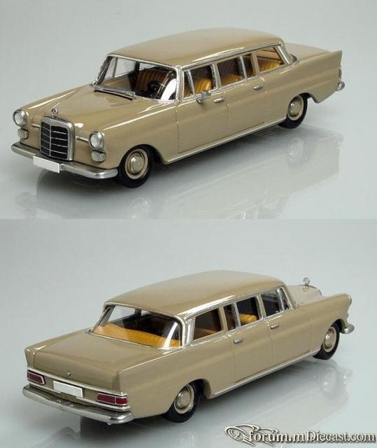 Mercedes-Benz W110 Limousine 200 Кузнецов