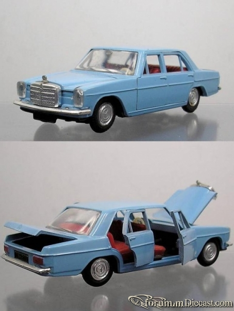 Mercedes-Benz W115 Sedan 1967 Sablon