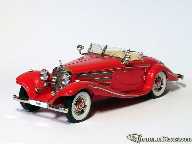 Mercedes-Benz W 29 500K Special Roadster Open 1936 Пивторак
