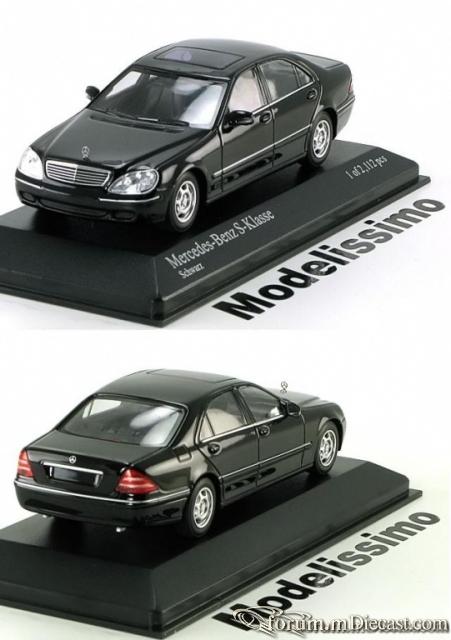 Mercedes-Benz W220 Sedan 1998 Minichamps