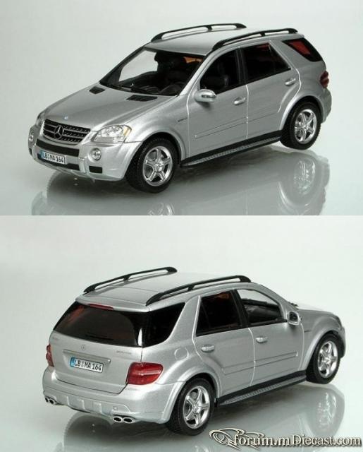 Mercedes-Benz W164 ML-klasse ML63 AMG Minichamps