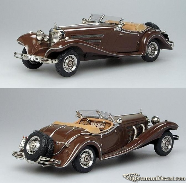 Mercedes-Benz W 29 500K Luxus Roadster 1935 Пивторак