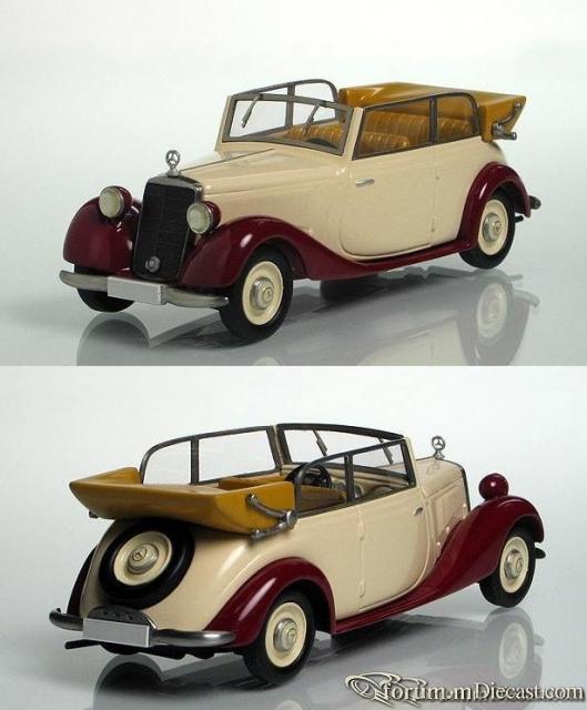 Mercedes-Benz W136 170 V Cabriolet B 1938 Кузнецов