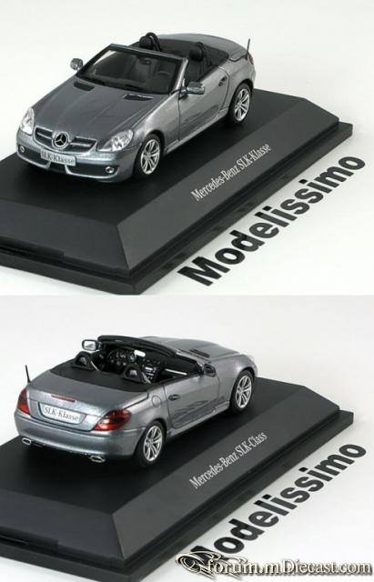 Mercedes-Benz W171 SLK-klasse 2008 Minichamps