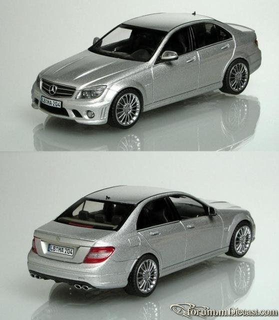 Mercedes-Benz W204 C-klasse Sedan 2008 C63 AMG Schuco