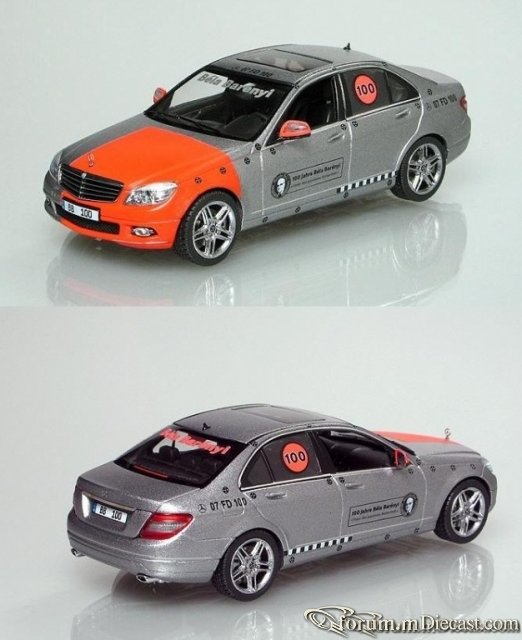 Mercedes-Benz W204 C-klasse Sedan 2008 100 Jahre Bela Bareny