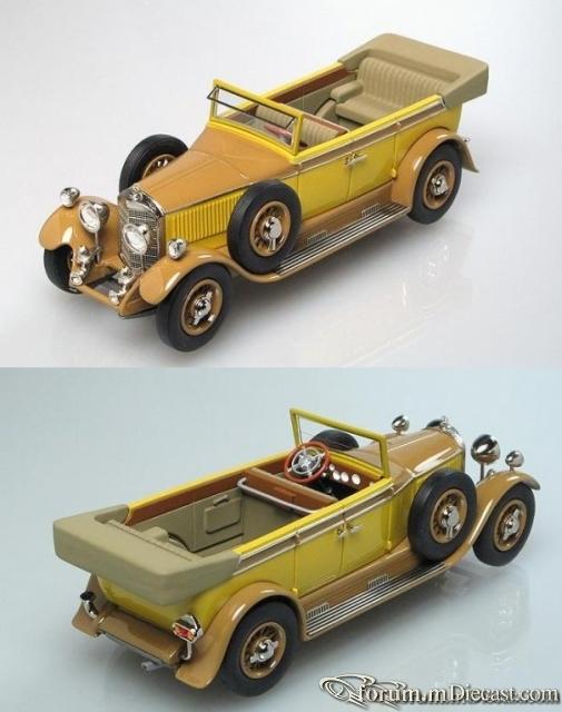 Mercedes-Benz Typ 400 15/70/100 PS Tourenwagen 1928 VR 2000