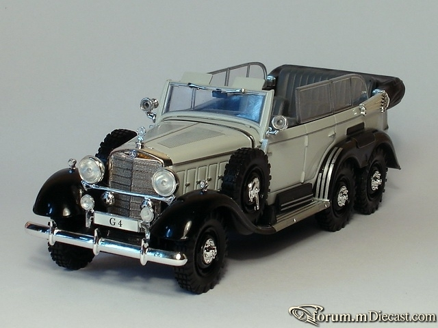 Mercedes-Benz W 31 G4 1938 Altaya
