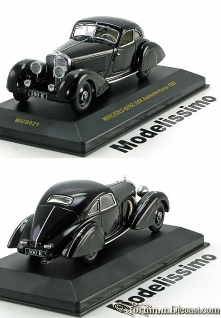 Mercedes-Benz W 29 500K Autobahn-Kurier 1935 Ixo
