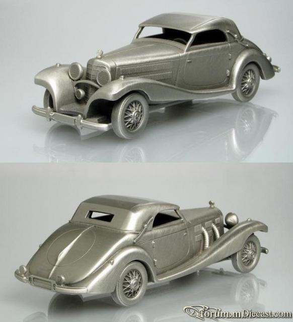 Mercedes-Benz W 29 540K 1939 Danbury Mint