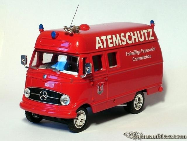Mercedes-Benz L408 Feuerwehr Matchbox