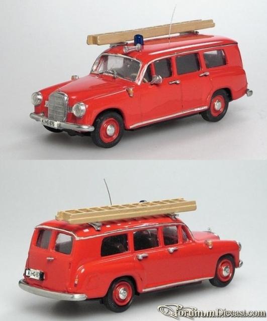 Mercedes-Benz Typ W120 180 Feuerwehr Binz Old Garage