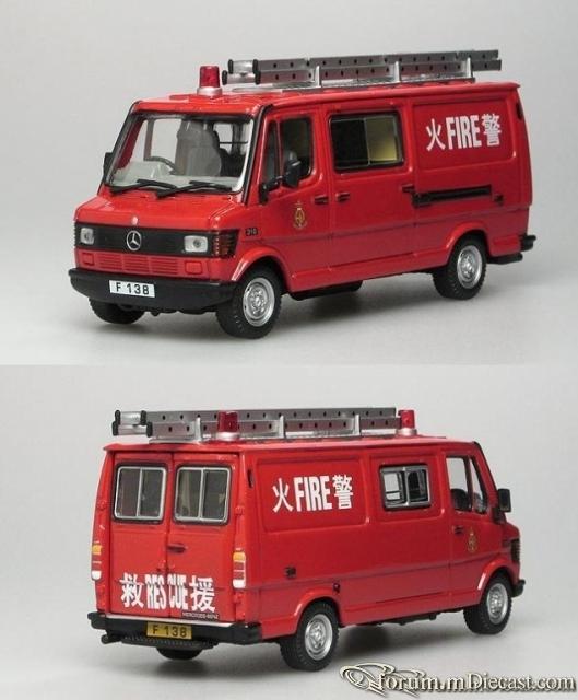 Mercedes-Benz 310 Light Rescue Van Hong Kong 1981-1984 Corgi