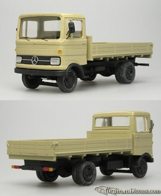 Mercedes-Benz LP 608 1965-1977 Vector-Models