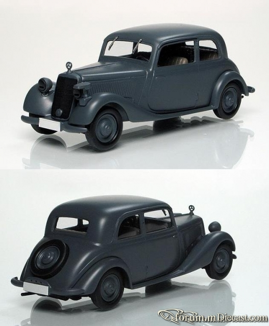 Mercedes-Benz W136 170 V 2door Sedan Wehrmacht 1937 Кузнецов