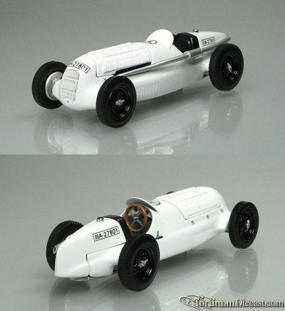 Mercedes-Benz W 25 Prototype 1934 Top Queens