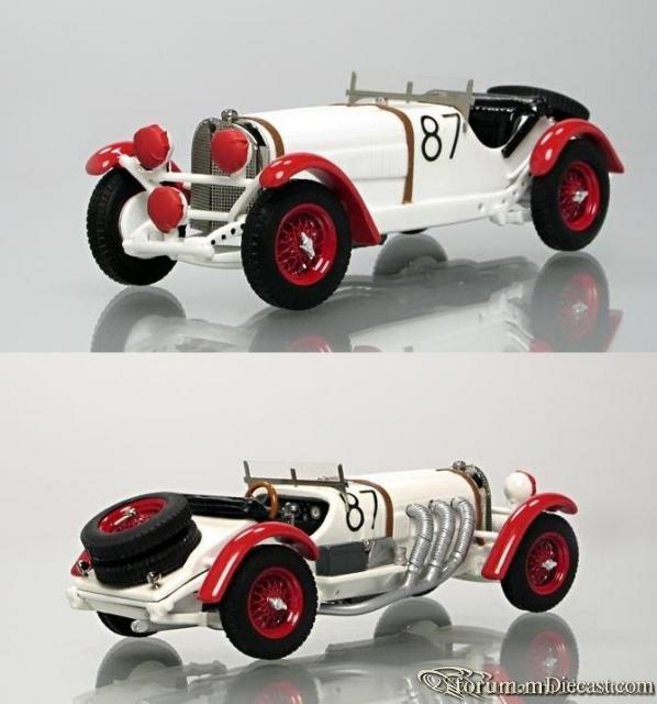 Mercedes-Benz W 06 SSKL Mille Miglia 1931 MCM