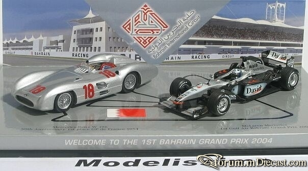 Mercedes-Benz SET 1st Bahrain GP 2004 Mercedes-Benz W196 &am