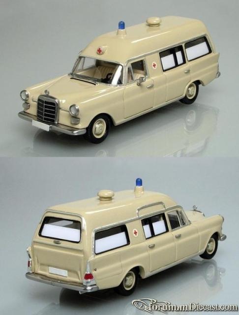 Mercedes-Benz W110 Krankenwagen 200D Binz 1966-1967 Кузнецов
