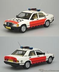 Mercedes-Benz W201 190E Rotterdam city Police - Traffic Poli