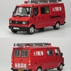 Mercedes-Benz 310 Light Rescue Van Hong Kong 1981-1984 Corgi