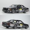 Mercedes-Benz W126 560 SEC AMG №5 SPA 1989 Autoart