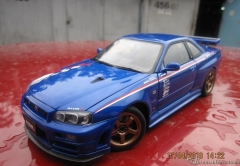 r34 sports resetting kyosho