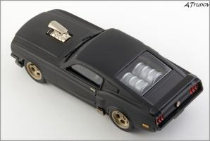 Прикрепленное изображение: 1967 Ford Mustang Armageddon on wheels - Brooklin Models - ROD.10 - 5_small.jpg