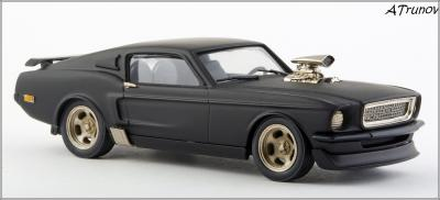 Прикрепленное изображение: 1967 Ford Mustang Armageddon on wheels - Brooklin Models - ROD.10 - 3_small.jpg
