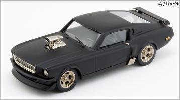 Прикрепленное изображение: 1967 Ford Mustang Armageddon on wheels - Brooklin Models - ROD.10 - 1_small.jpg