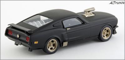 Прикрепленное изображение: 1967 Ford Mustang Armageddon on wheels - Brooklin Models - ROD.10 - 2_small.jpg