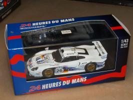 Прикрепленное изображение: 1997 430976826 MINICHAMPS Porsche 911 GT1 MOBIL.jpg