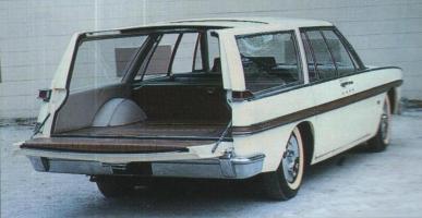 Прикрепленное изображение: 1962 Studebacker Wagon Prototype Rear View.jpg