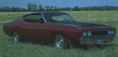 Прикрепленное изображение: `69 Ford Talladega Fastback.jpg