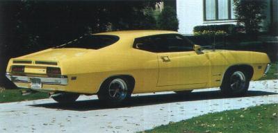Прикрепленное изображение: `70 Ford Torino Cobra Yellow 002.jpg