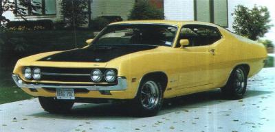 Прикрепленное изображение: `70 Ford Torino Cobra Yellow 001.jpg