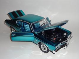 Прикрепленное изображение: Chevrolet Chevelle 396 SS 1970 Blue chrome - Ertl (12).JPG