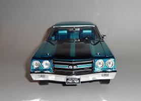 Прикрепленное изображение: Chevrolet Chevelle 396 SS 1970 Blue chrome - Ertl.JPG