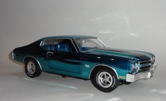 Прикрепленное изображение: Chevrolet Chevelle 396 SS 1970 Blue chrome - Ertl (1).JPG