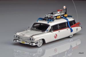 Прикрепленное изображение: Cadillac Ecto 1 Ghostbusters Hot Wheels Elite W1194 1.jpg