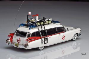 Прикрепленное изображение: Cadillac Ecto 1 Ghostbusters Hot Wheels Elite W1194 2.jpg